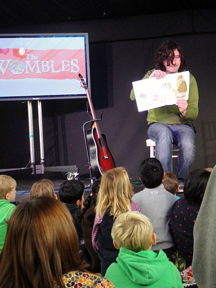 Julian Butler reads The Snow Womble