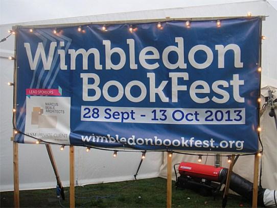 Wimbledon BookFest 2013 banner
