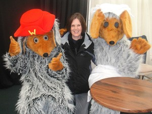 Tara with Orinoco and Madame Cholet