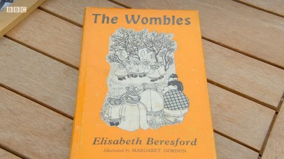 The Wombles book on the Antiques Roadshow