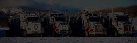LARGE FLEET OF HIGHLY SPECIALIZED TRUCKS