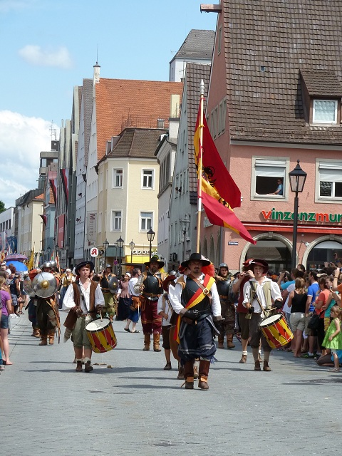 Wallenstein-Trommler in Memmingen