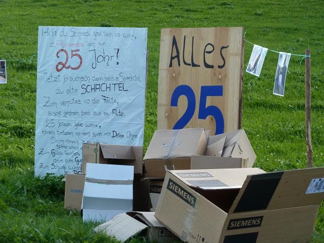 Schachtelfest Viele Schachteln Und Ein Grund Zum Feiern