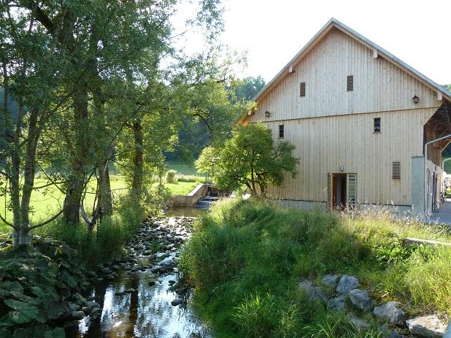 Stadel der Liebenthannmühle an der Günz