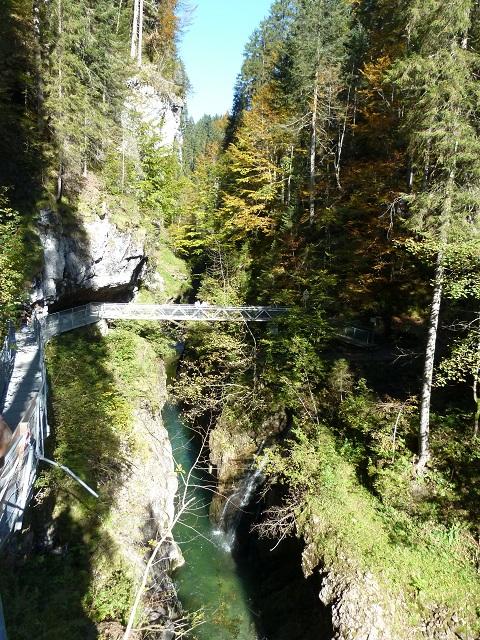 Steg über die Breitachklamm bei Oberstdorf