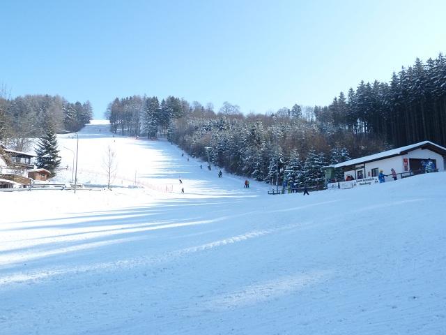 Skipiste am Skilift Ronsberg
