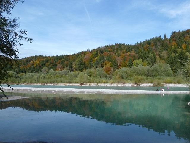 Der Lech am Walderlebniszentrum Ziegelwies