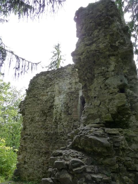 Durachtobel-Burgruine-Steinwand