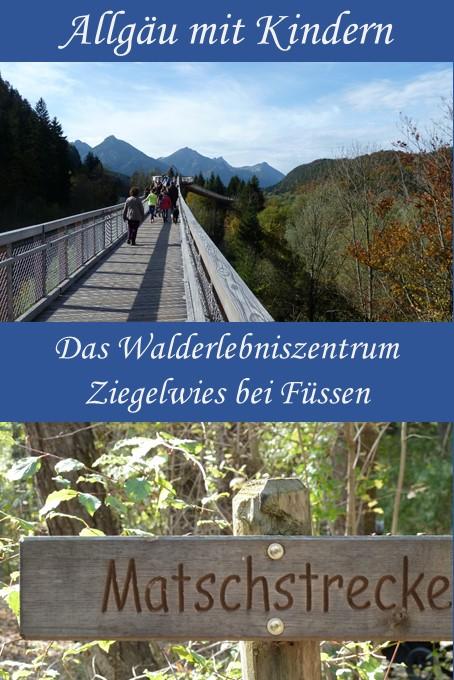 Walderlebniszentrum Ziegelwies bei Füssen im Allgäu