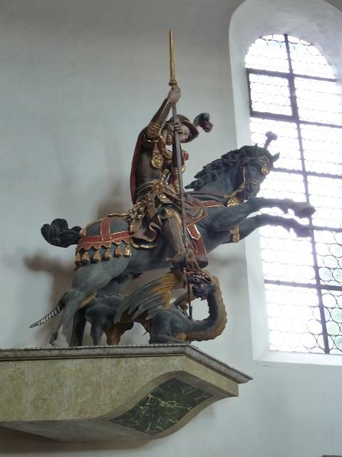 Auerberg-StGeorg-Skulptur