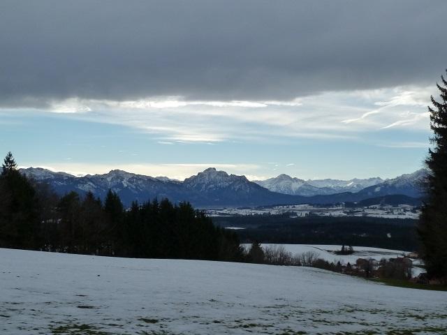 Auerberg-Weg-Blick auf Neuschwanstein