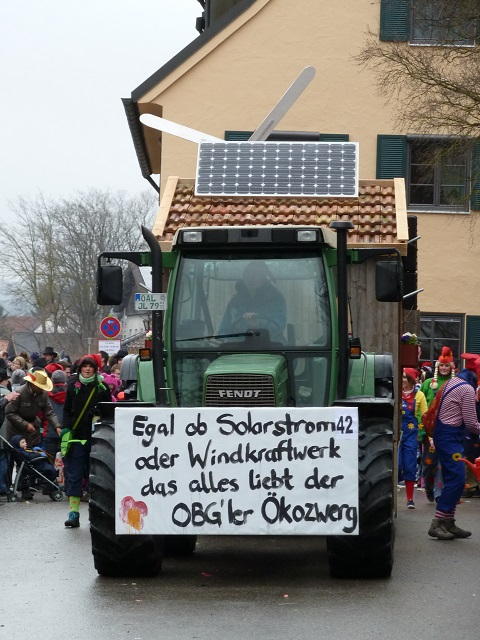 Faschingsumzug Obergünzburg - Ökozwerge