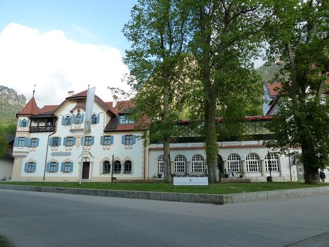 Museum der Bayerischen Könige in Hohenschwangau - Außenansicht