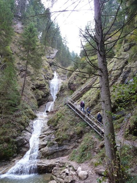 Wasserfallweg an der Alpspitz bei Nesselwang
