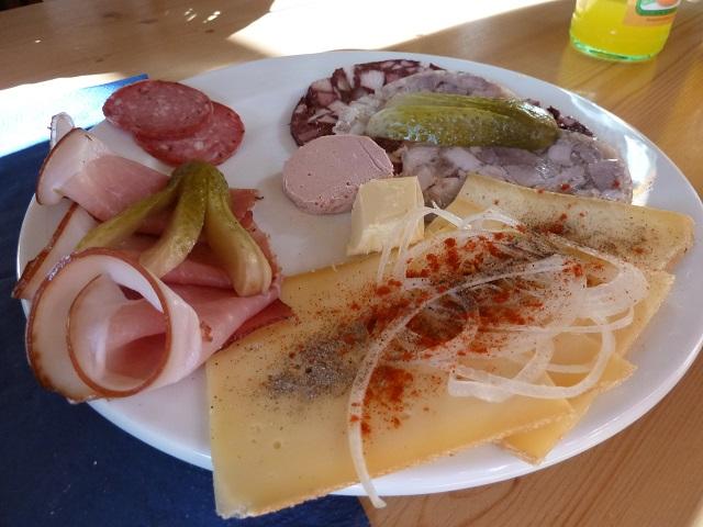 Bergmang-Alpe-Brotzeitteller