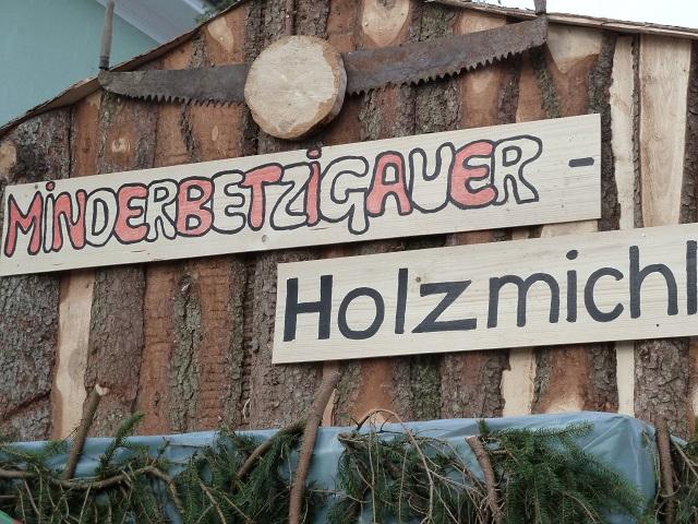 Minderbetzigauer Holzmichel im Fasching