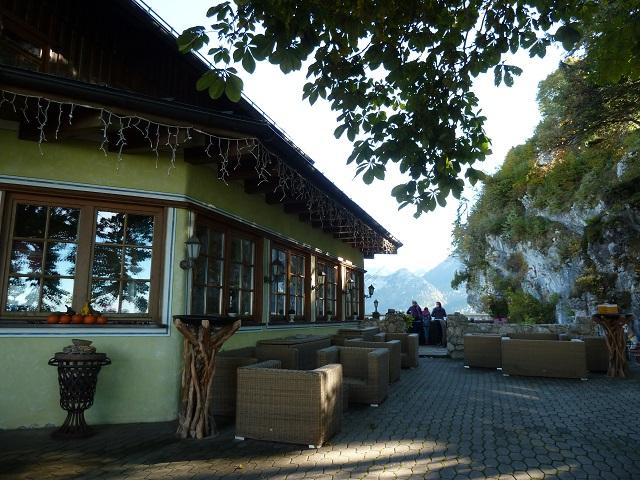 Burghotel Falkenstein - Terrasse