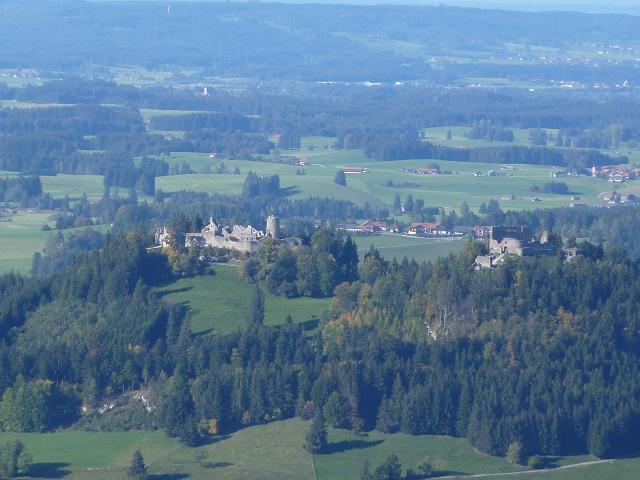 Ruinen Eisenberg und Hohenfreyberg