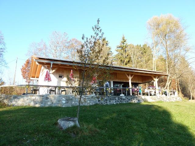 Kiosk am Ilasbergsee