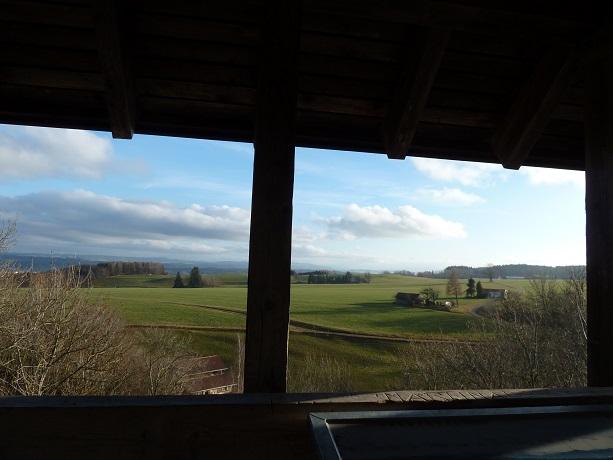 Römerturm-Großkemnat-Aussicht