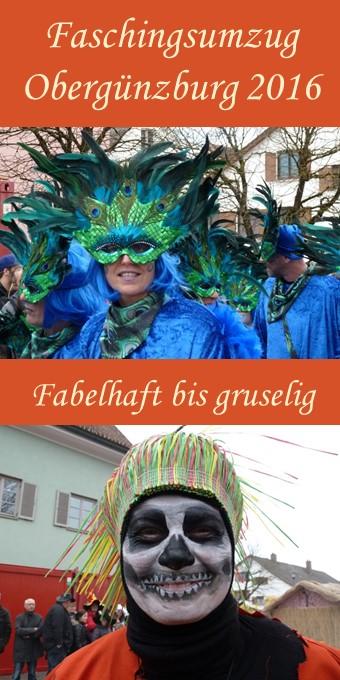 Fabelhafte Kostüme auf dem Faschingsumzug im Günztal 2016