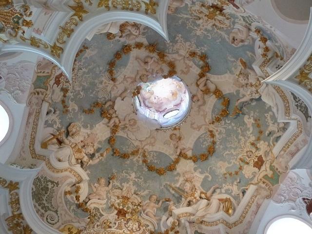 Kartause Buxheim - der Himmel in der Annakapelle