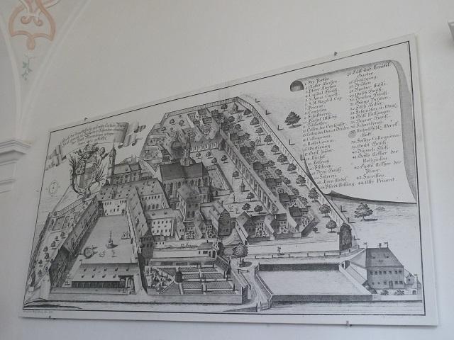 Kartause Buxheim - Ansicht von 1755