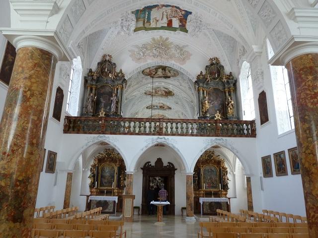 Kartause Buxheim - der Brüderchor der Kartäuserkirche