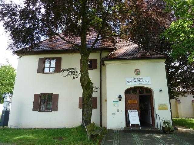 Eingang zur Kartause Buxheim