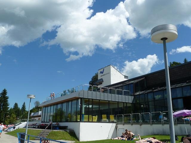 Alpenbad Pfronten Gebäude