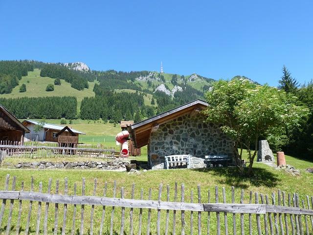 Das Museumsdorf bei den Erzgruben am Grünten