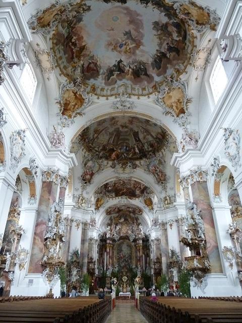 Innenraum der Basilika Ottobeuren