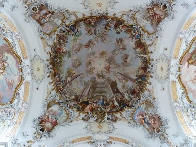 Basilika Ottobeuren-Kuppelfresko