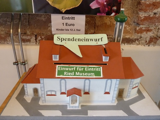 Riesmuseum - Spendenbox