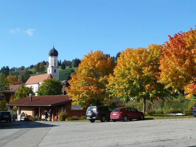 Wanderparkplatz in Rettenberg