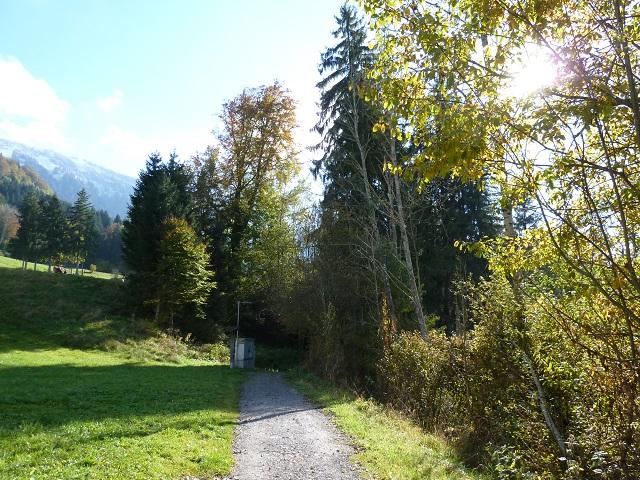 Weg zum Abenteuer Galetschbach