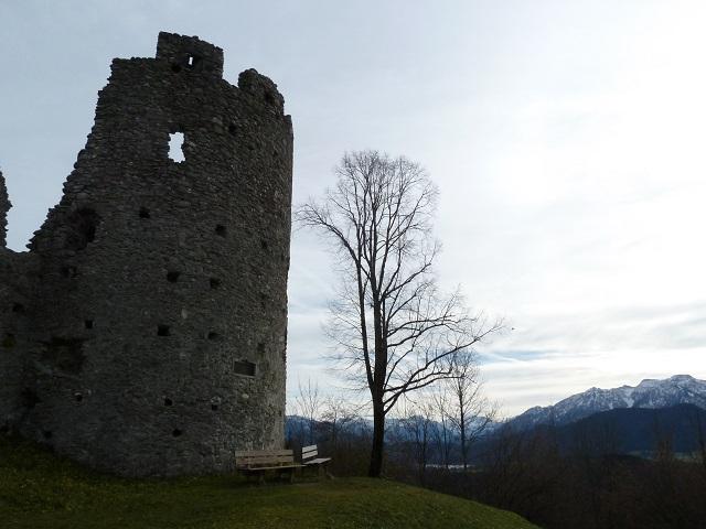 Burgruine Hohenfreyberg - Rundturm
