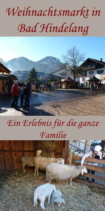 Weihnachtsmarkt Bad Hindelang - ein Erlebnis für die ganze Familie