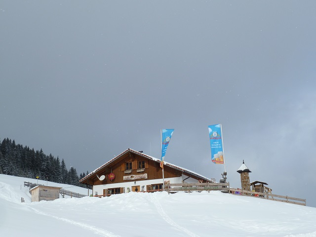 Alpe Stubental im Winter