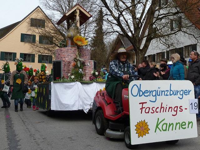 Faschingsumzug Obergünzburg 2017 - Obergünzburger Faschingskannen