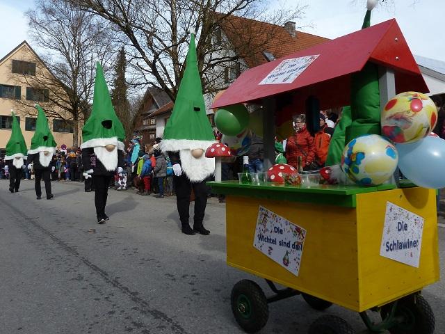 Schlawiner im Obergünzburger Fasching 2017