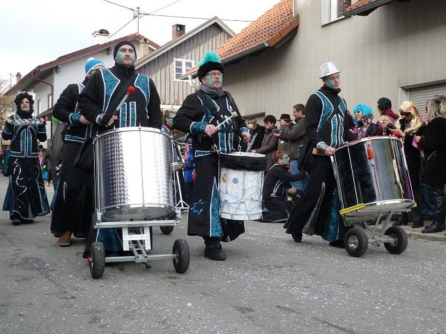 Faschingsumzug Ronsberg 2017 - Trommlegruppe Ramba Samba aus Senden