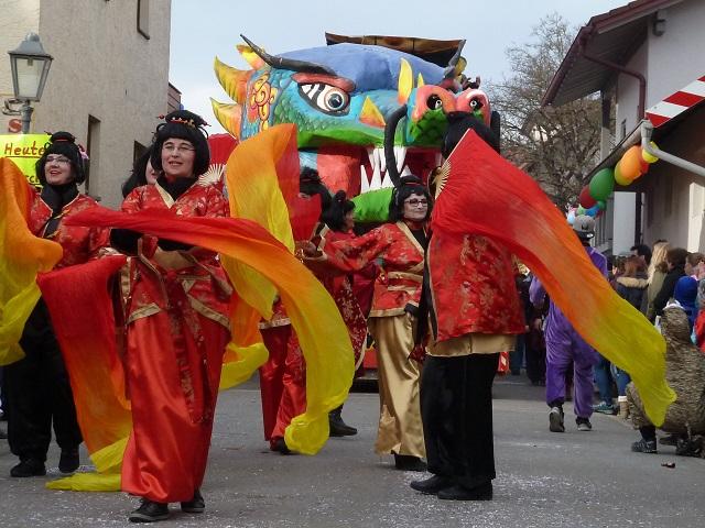 chinesisches Neujahsrfest vom Dietmannsrieder Duranand 2017