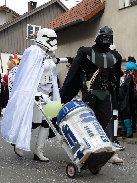 Darth Vader & Co im Fasching