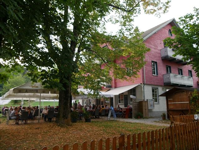 Biergarten am Landgasthof Mariaberg