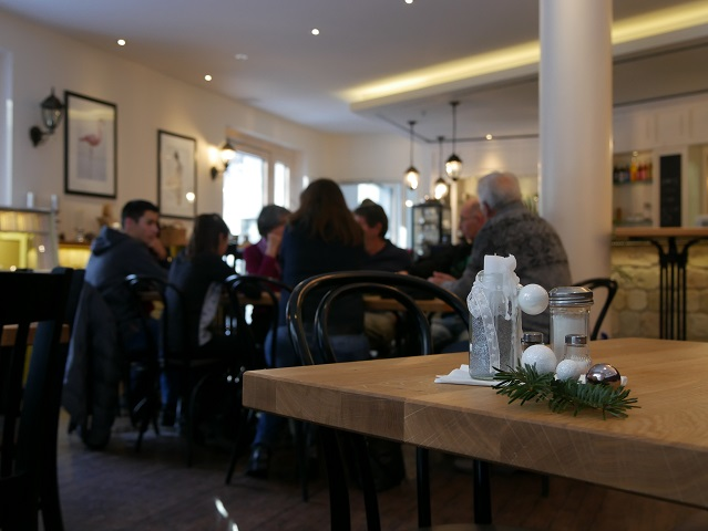 Im Café Mauerblümchen in Kempten