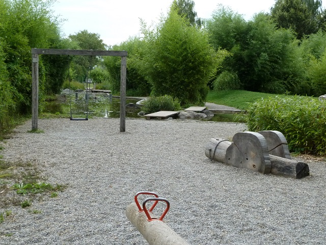 Spielplatz Stadtpark Neue Welt in Memmingen
