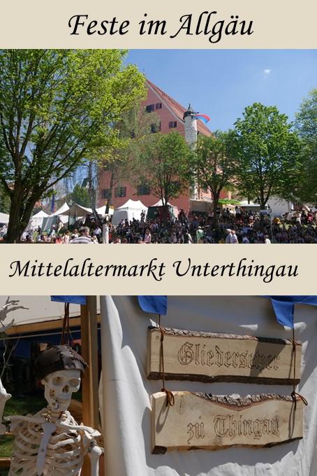 Mittelaltermarkt Unterthingau im Ostallgäu