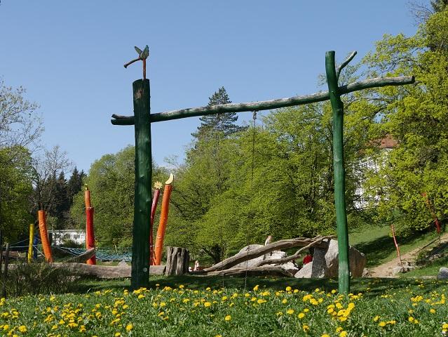 Spielplatz in Mittelberg an der Reha-Klinik