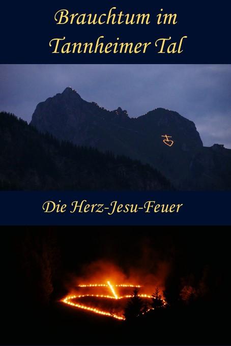 Die Herz-Jesu-Feuer im Tannheimer Tal